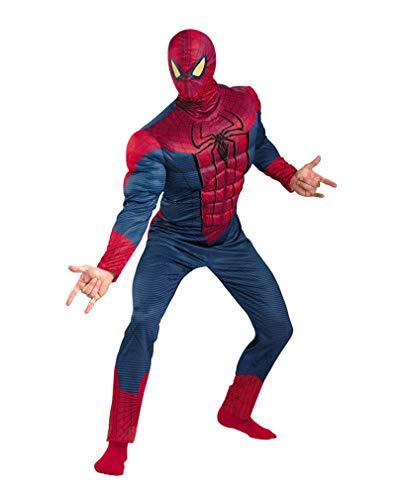 Kostüm Spiderman Muskel - Spiderman Herren Muskel Kostüm Supreme L/XL