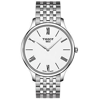 Tissot Reloj Analógico para Hombre de Cuarzo con Correa en Acero Inoxidable T0634091101800