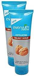 Hyper City Combo - Everyuth Naturals Exfoliating Scrub Walnut, 200g (Pack of 2) Promo Pack