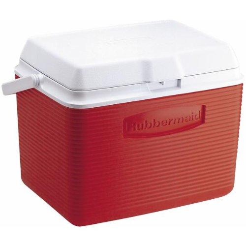 rubbermaid-24-quart-classic-red-victoire-personnelle-fg2a1304modrd-cooler