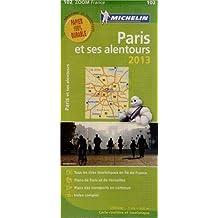 Carte ZOOM Paris et Ses Alentours 2013 n°102