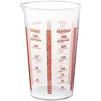 Deglon 9915800-V - Vaso dosificador de plástico (1/4 L)