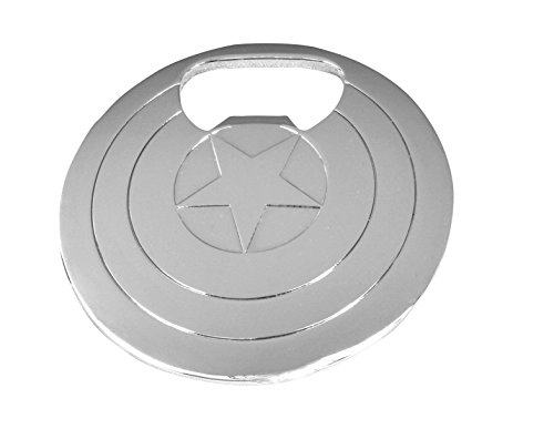 Marvel Capt America Shield Bottle Opener (Shield America Capt)