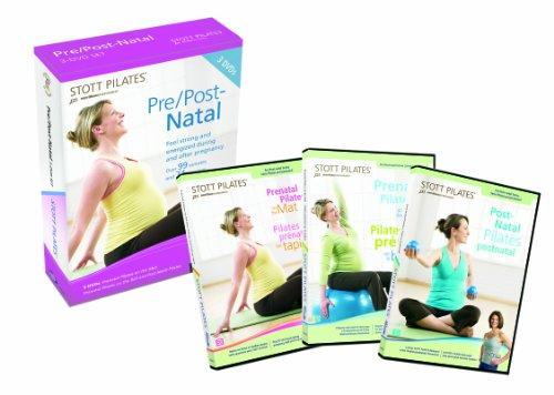 Stott Pilates DVD-Vor-/Post-Set Natal, 3 Stück