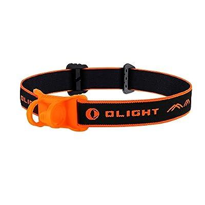 Olight® H1R aufladbar LED Taschenlampe Stirnband Headband - Orange von Olight bei Outdoor Shop