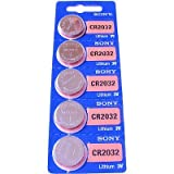 Sony Lot de 5 piles au Lithium CR2032