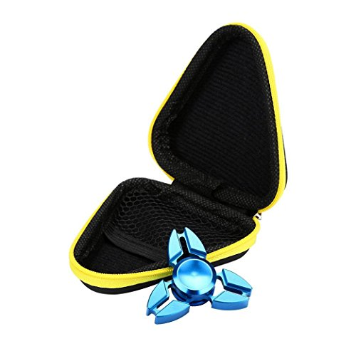 kolylong-gift-for-fidget-hand-spinner-triangle-finger-toy-focus-adhd-autism-bag-box-case-yellow