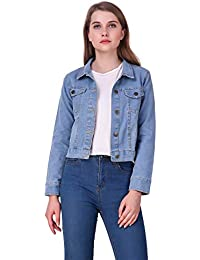 Clo Clu Denim Comfort Fit Full Sleeves Collar Sky Blue Denim Jacket