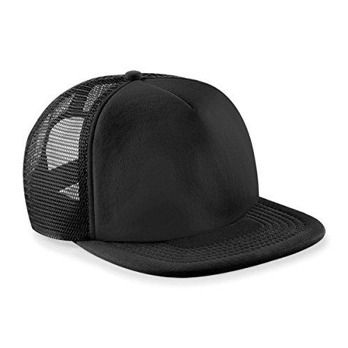 Beechfield - Casquette de Baseball - Homme - Noir - Noir/noir - Taille unique