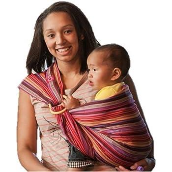 28c84819cb0 EllaRoo Ring Sling Aloe  Amazon.co.uk  Baby
