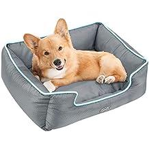 Pecute Cama de Perros y Gatos Alfombra para Mascotas Tela Impermeable Desmontable y Extraíble (M