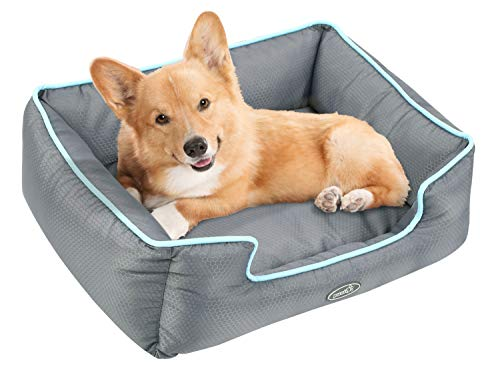 Cuccia per cani sfoderabile cuscino rettangolare in tessuto oxford impermeabile lavabile in lavatrice( m )