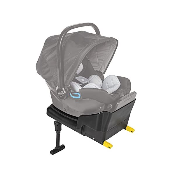 Baby Jogger City Go i-Size Iso-fix Car Seat Base,  Black Baby Jogger Compatible with baby jogger city go i-size infant car seat. Secure isofix connectors plus colour-coded red/green indicators ensure both the base and seat are properly installed, minimising the risk of incorrect installation. Load leg prevents the seat from shifting when rear facing. 2