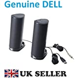 Dell AX210CR Black USB Speakers - Kit