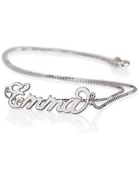 925 Silber Namenskette- Personalisiert mit Ihrem eigenen Namen