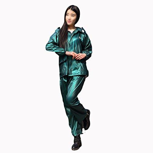 Raincoat Mode Split Imperméable Pantalon de Pluie,...