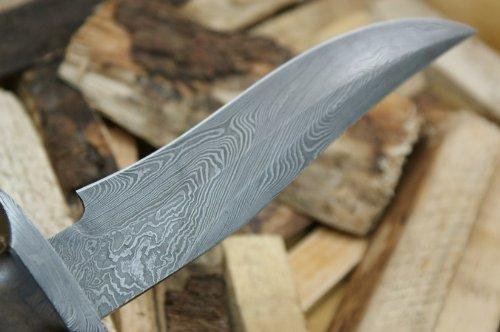 custom-damast-bowie-messer-jagdmesser-mit-lederscheide-3