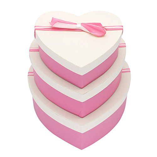 Delidraw Karton Home Party Sweet Heart Shaped Geschenk Geschenk Süßigkeiten Schokoladenetui Box (Karton-heart Shaped Box)