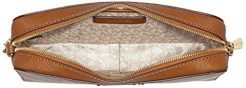 Michael Kors, Borsa a tracolla donna Marrone (Luggage)