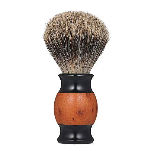 Brocha de afeitar Salon Brocha facial Brocha de afeitar Nudo denso
