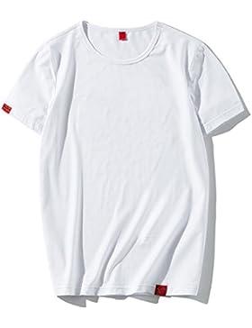 La marca de moda japonesa de los hombres camiseta simple letra La tendencia de los sistemas de la personalidad...