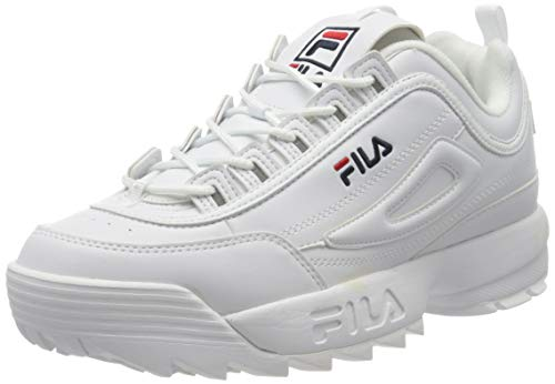 Fila Disruptor Low 1010262-1fg, Zapatillas para Hombre, Bianco White 1fg, 42 EU