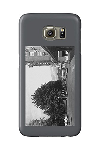 Olympia, Washington - View of Capitol Park, 6th, Exterior View of Hotel Olympian (Galaxy S6 Cell Phone Case, Slim Barely There) -