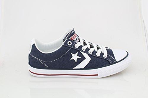 Zapatillas de deporte Unisex Chuck Taylor All Star OX (6.5 HOMBRES DE LOS EE. UU. / 8.5 MUJERES DE LOS EE. UU., Azul marino,.)