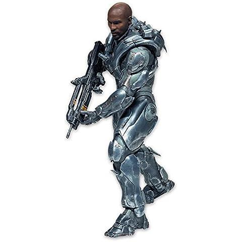 Figura Spartan Locke, 25cm sin casco. Halo 5 Deluxe McFarlane