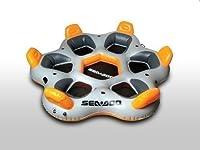SEA-DOO Club Sala 6 Isola bagno Per 6 Persone - Semplicemente rilassarsi - 3 dispositivo MP con un portabevande - Dimensioni: 334 x 353 - Posti a sedere: 6 - Peso: 17 kg