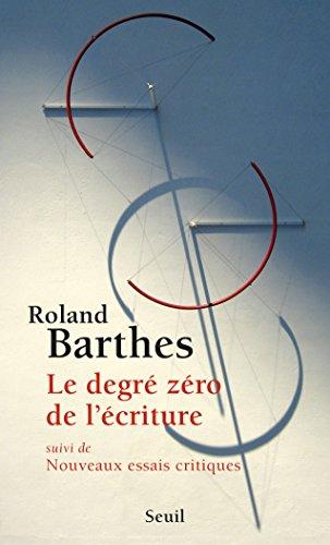 Lire Le Degré zéro de l'écriture epub, pdf