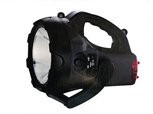 cfg-patriot-torcia-10w-ricaricabile-appoggio-luce-rossa-posteriore-lampeggiante-accessori
