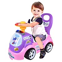 Ride On Toy Kids Car Push AlongChildren Bike Toddler Walker Baby Balance ToysFeature:100% brand new and high qualityQuantity: 1PCSize:53x245x44cmMaterial: PlasticAriding toy and walker in one Toddlers can ride themselves or use kid-sizedpush ...