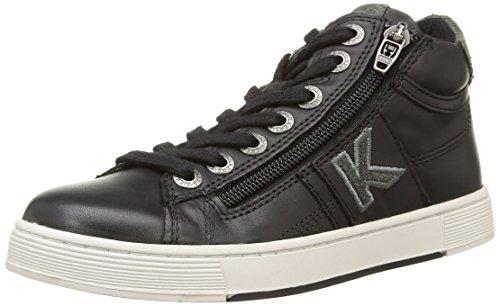 Kickers  Poolover,  Sneaker ragazzo Nero nero 33