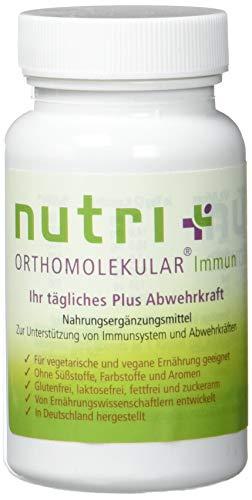 VITAMINE IMMUNSYSTEM - Abwehrkräfte stärken - Orthomolekular Immun - Pflanzliche Immunkur - 60 A-Z Komplex Kapseln hochdosiert - Aufbaukur - In Deutschland hergestellt