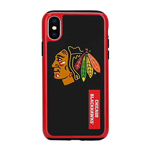 Forever Collectibles iPhone X Dual Hybrid Impact Lizenzprodukt Fall - NHL Chicago Blackhawks Chicago Fall