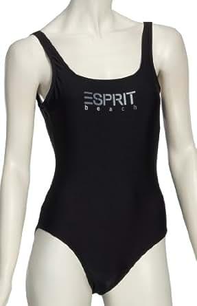 ESPRIT Bodywear M2274 Damen Bademode/ Badeanzüge, Gr. 40  Schwarz (4 )