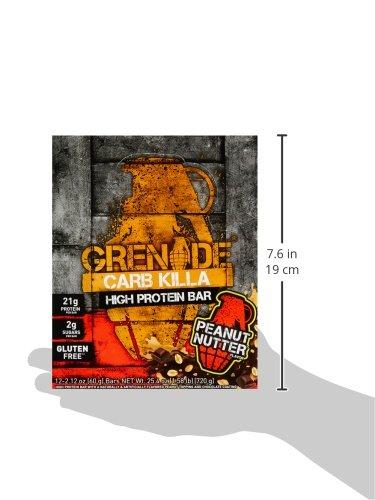 Grenade - Carb Killa Protein Bar Peanut Nutter - 12 Bars 8