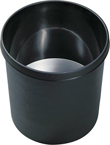 Preisvergleich Produktbild Helit H6107695 Sicherheits-Papierkorb, schwer-entflammbar, 18 L, schwarz