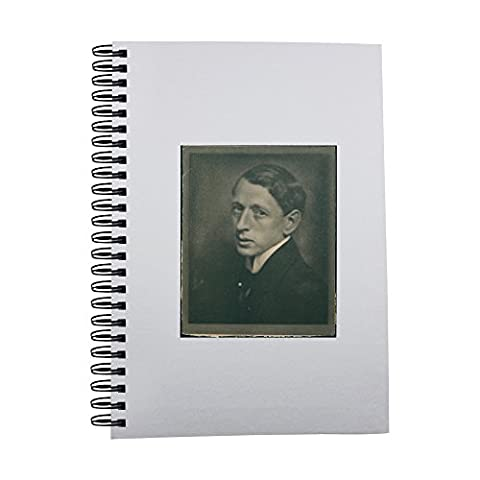 Notebook with Vintage photo of Swedish painter John