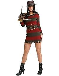 Nightmare on Elm Street Miss Freddy Krueger Damen Kostüm