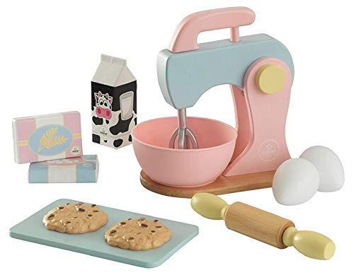 KidKraft 63371 Backspielset Spielzeug-Set zum Kochen und Backen, Pastellfarben