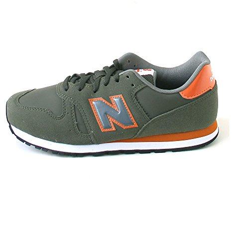 New Balance Unisex-Kinder Kj373 Sneakers Grün