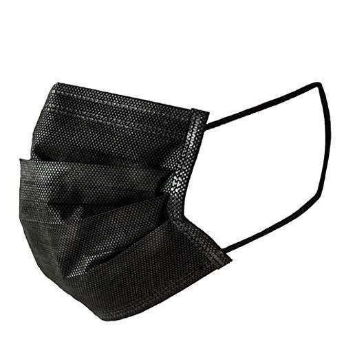 izinische Einweg-Gesichtsmasken Staub gegen Luftverschmutzung Einzelverpackung, Aktivkohle-Gesichtsmaske Chirurgisch Dental Hypoallergen ()