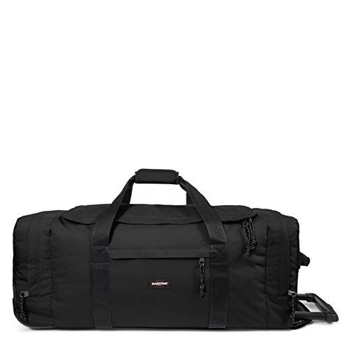 Eastpak Leatherface L Equipaje de ruedas, 87 cm, 98 L, Negro