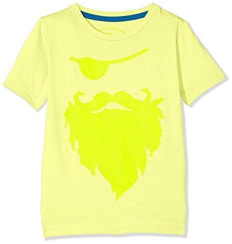 TOM TAILOR Kids Jungen Cool Pirate T-Shirt Gelb (Light Sunny Lime Yellow 3497), 110 (Herstellergröße: (Shirt Jungen Piraten)
