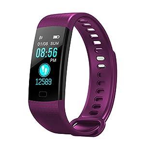Milnnare Reloj Inteligente Presión Arterial Frecuencia cardíaca Monitor de sueño Podómetro Sports Fitness Smart Pulsera… 16