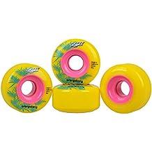 Orangatang Skiff 62mm–Longboard Wheels–86A Yellow