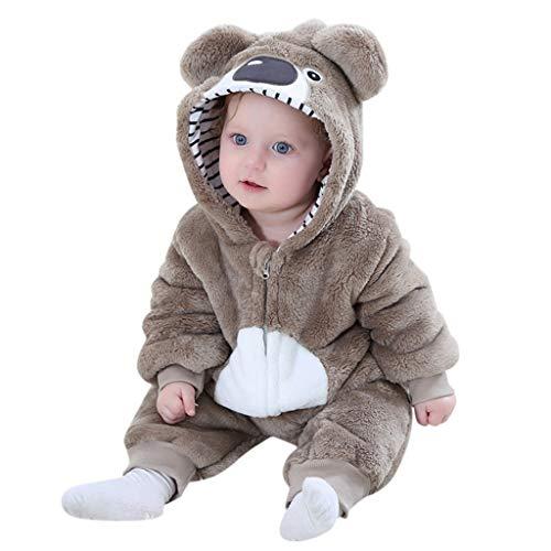 Comie Baby Winterkleidung Eingestellt, Baby Kleinkind Jungen Mädchen Tiere Cosplay Niedlichen Cartoon Pyjamas Body Strampler, Aus Hochwertigen Materialien Gefertigt