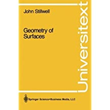 Geometry of Surfaces (Universitext) by John Stillwell (1995-02-03)